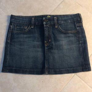 🍎7 for All Mankind Jean Skirt, 26